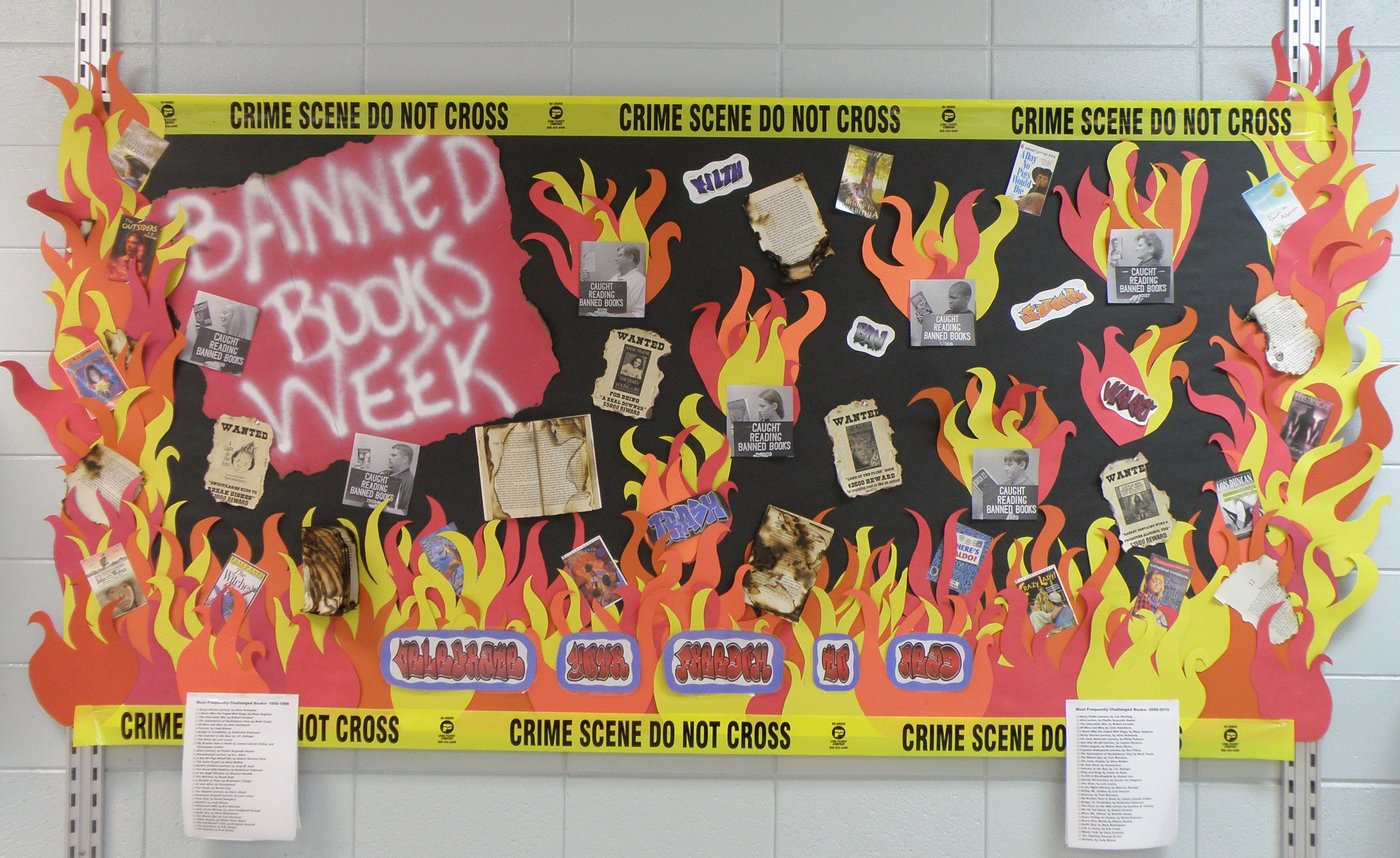 An essay on banned books?
